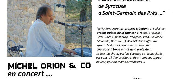 Concert à La Bergerie, à VALBONNE, Vendredi 16 décembre, 20h